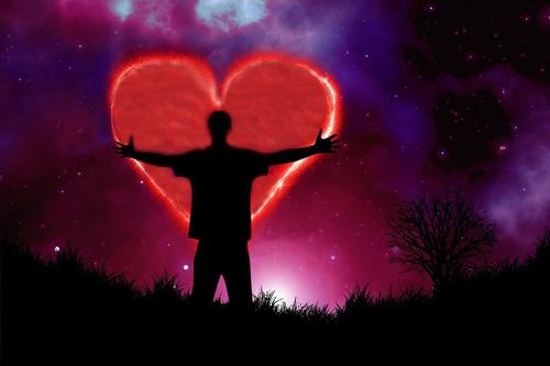 Energie srdce ovlivňuje hmotu kolem nás